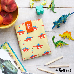 Pochette sandwich réutilisable Boc'n'Roll - Kid Dinos