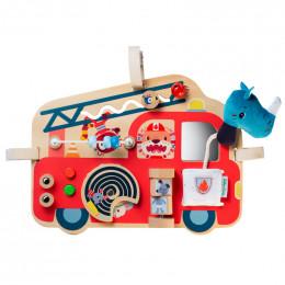 Panneau d'activités - Camion de pompier