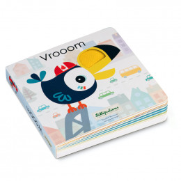 Livre sonore & tactile - Vrooom