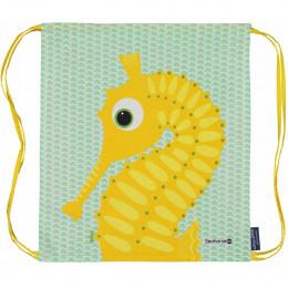 Sac d'activités enfant en coton BIO - Hippocampe