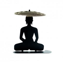 Porte spirales d'encens - Bouddha