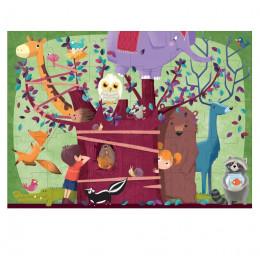 Puzzle géant L'arbre aux animaux 60 pièces - à partir de 5 ans