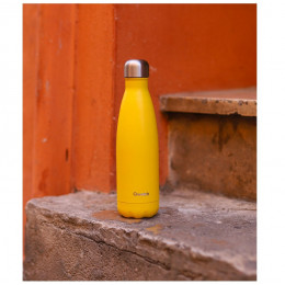 Bouteille nomade isotherme - 500 ml - Pop yellow