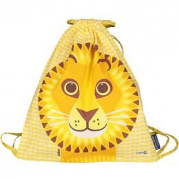 Sac d'activités enfant en coton BIO - Love Cats - Lion