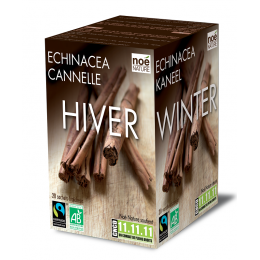 Infusion bio-équitable : HIVER CANNELLE ECHINACEA