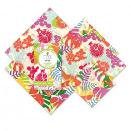 Emballage alimentaire à base de résines - 5 pièces - Tropical