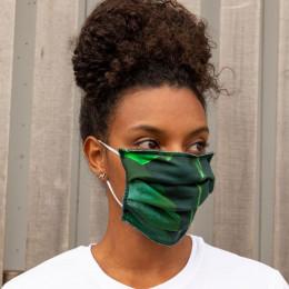 Masque buccal en coton bio - Marble Universe
