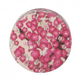Bouchon washi pour théière en verre - écru rose