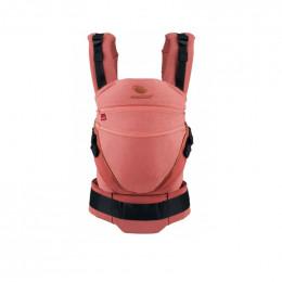 Porte-bébé Baby carrier XT coton BIO - Denimrouge Toffee