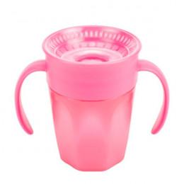 Tasse de transition 360° avec capuchon - 200 ml - Pink