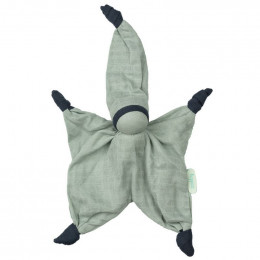 Doudou Sisco tétra - vert - dès la naissance