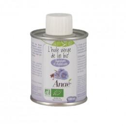 L'huile vierge de lin Bio - 100 ml