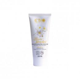 Shampooing Gel douche Bio Fleurs blanches - 200 ml