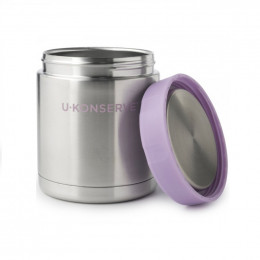 Boîte à repas lunch box isotherme en inox - Lavender - 590 ml