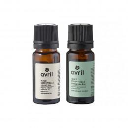 Duo d'huiles essentielles BIO - Palmarosa et Niaouli