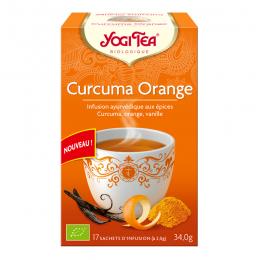 Infusion Curcuma Orange - 17 sachets