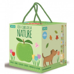 Eco-cubes et livre de la nature - à partir de 18 mois