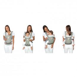 Porte-bébé OMNI 360 4 positions - Cool air mesh - Pearl Grey