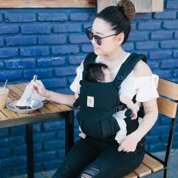 Porte-bébé OMNI 360 4 positions - Pure Black