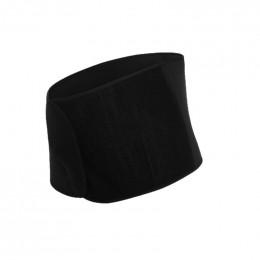 Ceinture de maintien abdominale en coton BIO - Noir