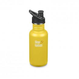 Gourde bouteille en inox  - 532 ml - Bouchon sport - Lemon curry