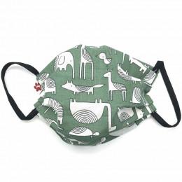 Masque buccal pour enfant - Dakar Vert