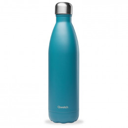 Bouteille nomade isotherme 750 ml - Bleu canard