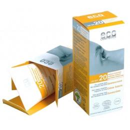 Crème Ecran solaire SPF 20 Argousier et Olive PEREMPTION fin 01/2021