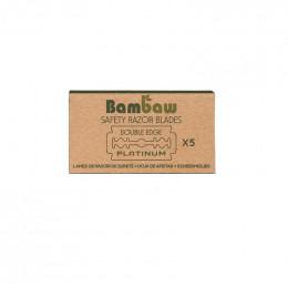 Lames de rasoir Bambaw - 5 pièces