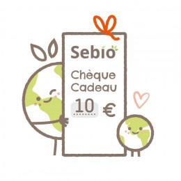 Chèque cadeau virtuel de 10 € - version électronique