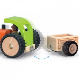 Mini tracteur en bois - à partir de 18 mois