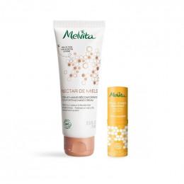 Crème mains réconfortante 75 ml + un stick à lèvres Gratuit
