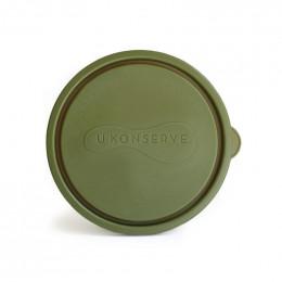 Couvercle pour boîte ronde 475 ml - 12 cm de diamètre - Olive