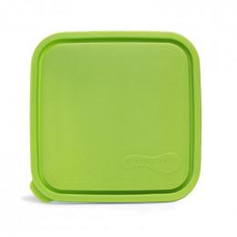 Couvercle pour boîte carrée - 20 cm de diamètre - Lime