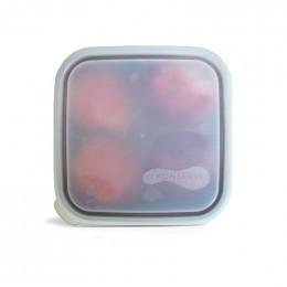 Couvercle pour boîte carrée - 18 cm - Translucide