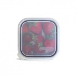 Couvercle pour boîte carrée - 15 cm - Translucide