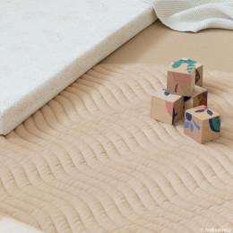Tapis de jeu rond Kiowa - Nude - small