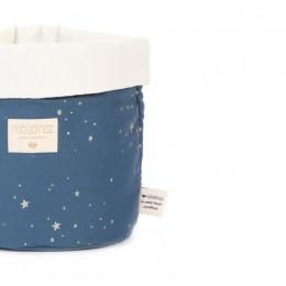 Panier Panda - Gold stella & Night blue - medium