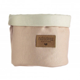 Panier en coton Tango - Bloom pink - small