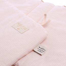 Tour de lit Nest en nid d'abeille - Dream pink