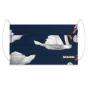 Masque buccal en coton bio - Swan Lake