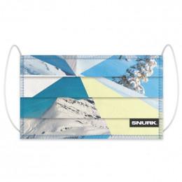 Masque buccal en coton bio - Mountains
