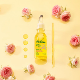 Huile d'Argan BIO - Parfum rose - 50 ml