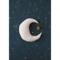 Coussin lune Pierrot - Natural
