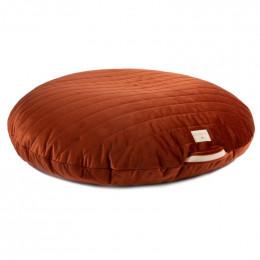 Pouf Sahara velvet - Wild brown