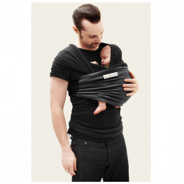 Echarpe porte-bébé : noir / anthracite