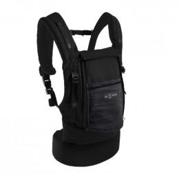 PhysioCarrier coton noir / poche anthracite