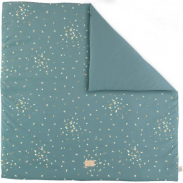 Tapis de jeu Colorado - Gold confetti & Magic green