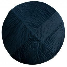 Tapis Kilimanjaro velvet 105x105 cm - Night blue