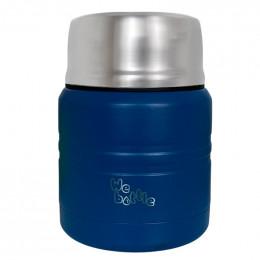 Lunchbox Isotherme en Inox avec cuillère - Dark Blue - 350 ml